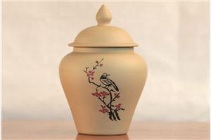 建水紫陶沈宝学小茶叶罐