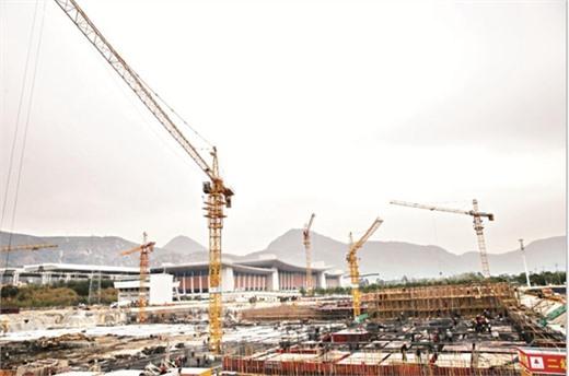 泉州动车站综合交通枢纽项目 明年春运有望投用